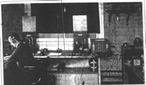 marconi wireless operator at the clifden station