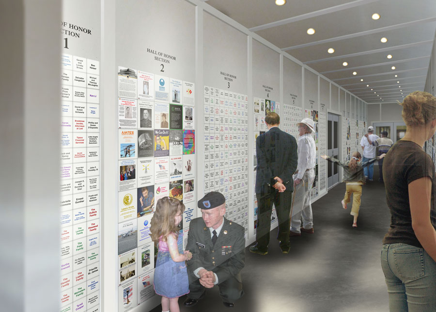 Gift Idea: Honor a Veteran with a Hall of Honor Tile